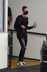 Hailey Bieber Visits at a doctors office in Beverly Hills