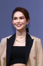 Hannah Quinlivan, also known as Jen Wu and Kun Ling, stands for her own contact lens brand QUINLIVAN, Taipei, Taiwan