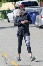 Helen Hunt Out in Brentwood