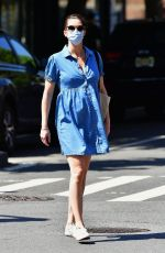 Hilary Rhoda Out in New York