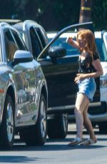 Isla Fisher Out in LA