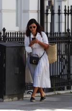 Jenna Coleman Out in London