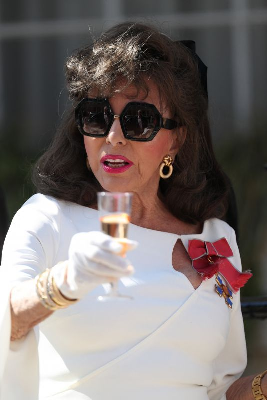 Joan Collins Leads a
