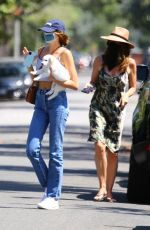 Kaia Gerber & Cindy Crawford Out in Santa Monica