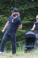 Kara Tointon Seen out in Hyde Park, London