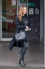 Kasey Osborne Seen leaving a dentist office in Melbourne, Australia