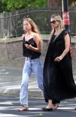 Kate Moss Seen with her daughter in London