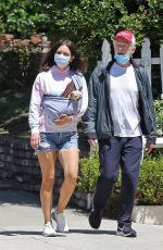 Katharine McPhee Out with David Foster in Los Angeles
