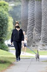 Katherine Schwarzenegger Enjoys a stroll with her dog in West Hollywood