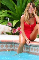 Kelly Bensimon In a one piece and bikini in West Palm Beach