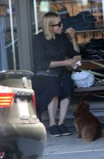 Kelly Rutherford Out in Brentwood