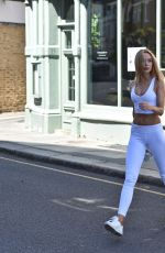 Kimberley Garner Out in London