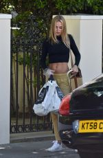 Kimberley Garner Out shopping in London