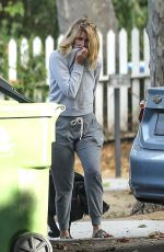 Laura Dern Out with her dogs in Pacific Palisades