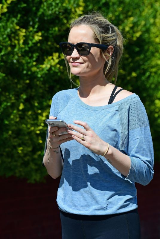 Laura Whitmore Out jogging in London