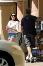 Lauren Silverman Goes for a bike ride to the newsstand to check out the latest magazines and to grab a cold drink in Malibu