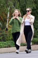 Leslie Mann Out for a walk in LA