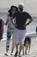 Liberty Ross On an afternoon beach stroll in Malibu