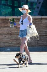 Lili Reinhart Finds time during lockdown to spend more quality time with her dog in Los Angeles