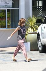 Lisa Rinna Makes A Fashion Statement At Her Local Market While She Is Picking Up Groceries In Bel-Air
