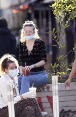Lourdes Leon Spotted hanging out with friends not following NYC Rules of keeping social distance and not wearing a mask