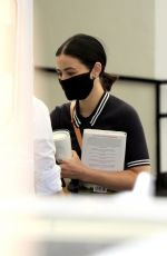 Lucy Hale At a medical building in Beverly Hills