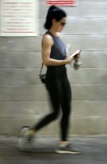 Lucy Hale Exits a private gym session in Los Angeles