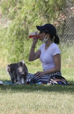 Lucy Hale Has a picnic in the Park with a girlfriend in Los Angeles