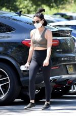 Lucy Hale Out for a walk in Studio City