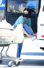 Lucy Hale Shopping at Gelsons in LA
