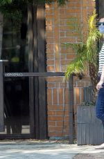 Lyndsy Fonseca Goes for a walk in West Hollywood
