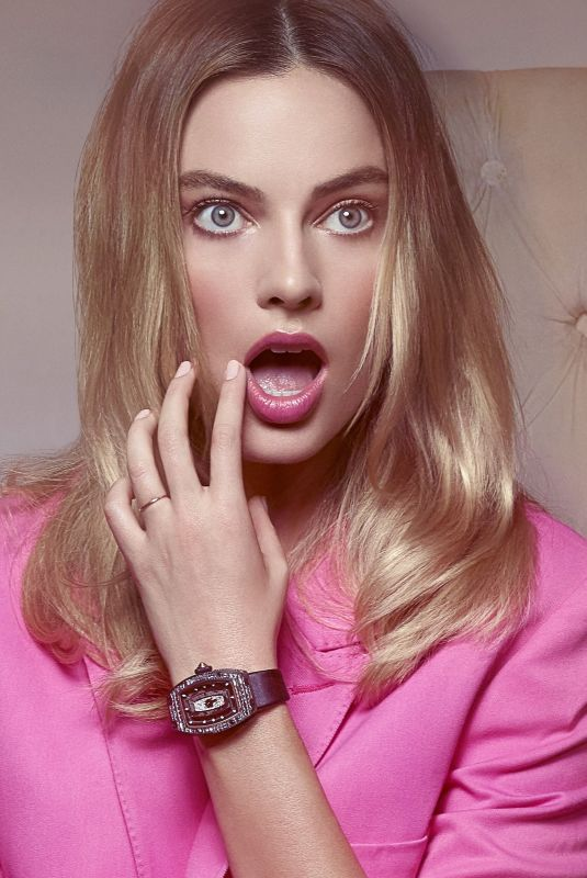 Margot Robbie - Robert Jaso photoshoot for Richard Mille