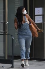 Maya Jama Leaving rehearsals for Peter Crouch