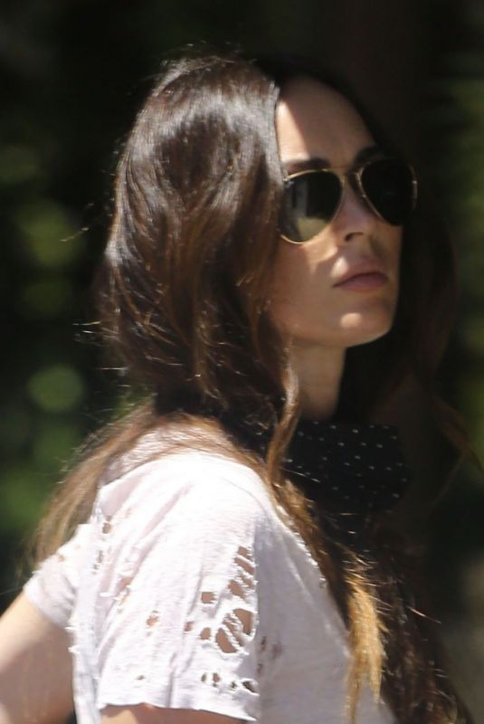Megan Fox Out and about in Calabasas