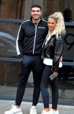 Molly Mae Steps out with Boyfriend Tommy Fury flashing a huge smile, as she celebrates her 21st Birthday in Manchester