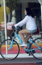 Molly Shannon Seen while out enjoying a bike ride in Santa Monica