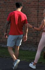 Molly Smith Seen with her boyfriend in Manchester