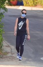 Olivia Wilde Out for an evening hike in Los Angeles