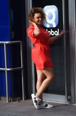 Pandora Christie Seen Arriving at Global Radio Studios