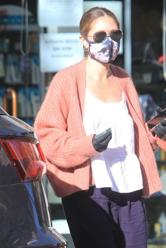 Rebecca Gayheart Taking all precautions during the coronavirus pandemic in Bevery Hills