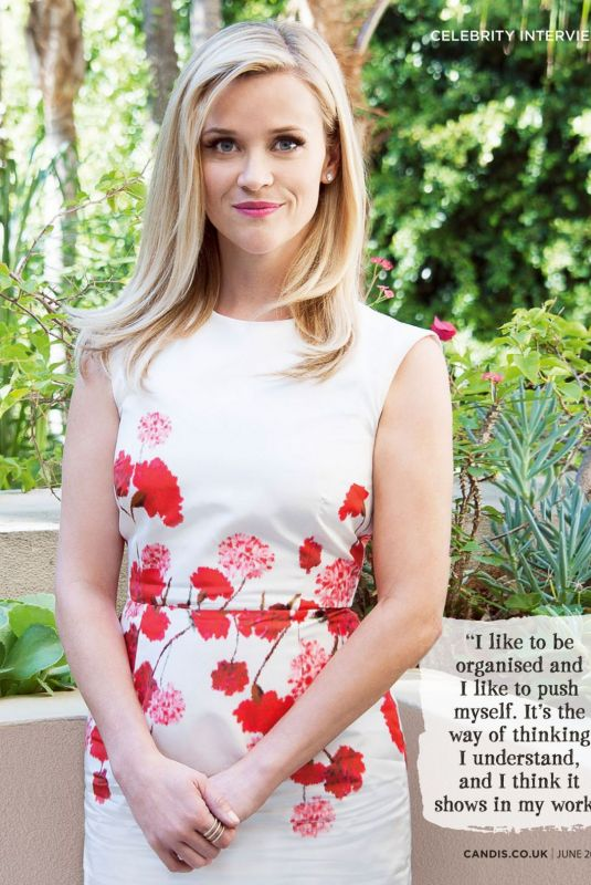 Reese Witherspoon - Candis Magazine UK, June 2020