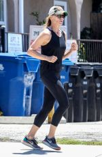 Robin Wright Out Jogging in Santa Monica