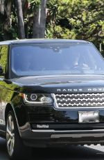 Sandra Bullock Out with Bryan Randall driving around Los Angeles