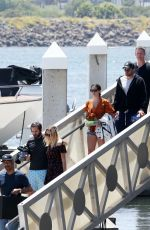 Sara Sampaio Spends some time on a boat for the afternoon in Los Angeles