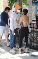 Selma Blair Out with her boyfriend Ron Carlson while getting coffee at Alfred in Studio City