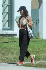 Shannyn Sossamon Out for a walk in West Hollywood