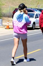 Sofia Richie Hangs with a couple of her friends and goes for a casual walk in Malibu
