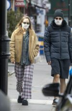 Suki Waterhouse Out and about in London