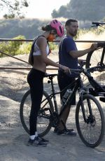 Tatiana Dieteman Out for a bike ride in Brentwood