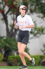 Toni Garrn Out jogging in Los Angeles